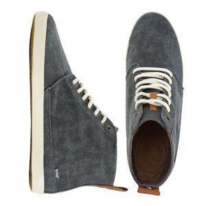 Reef | Winter Wall High Top Fabric Sneaker Gray 7